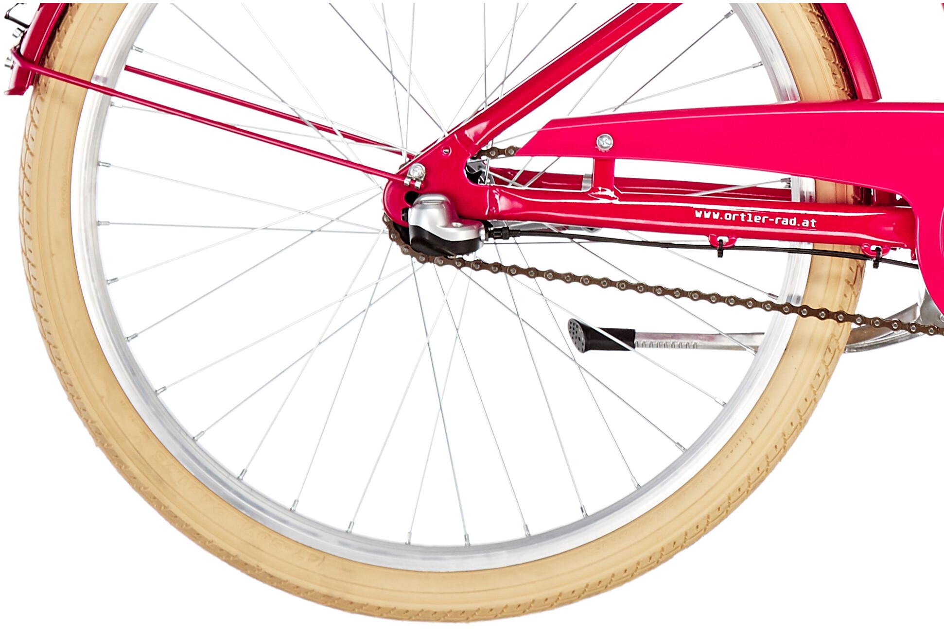 f3ade5f94ae02c Ortler Bricktown 24'' Kids, berry red | Sklep Bikester.pl